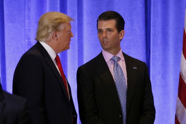 trump and trump jr