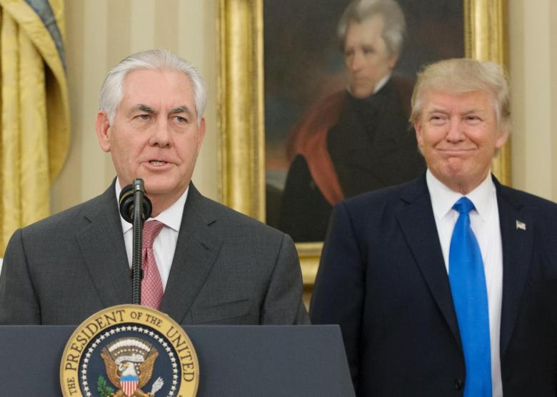 TillersonTrump