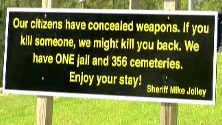 sherriff sign