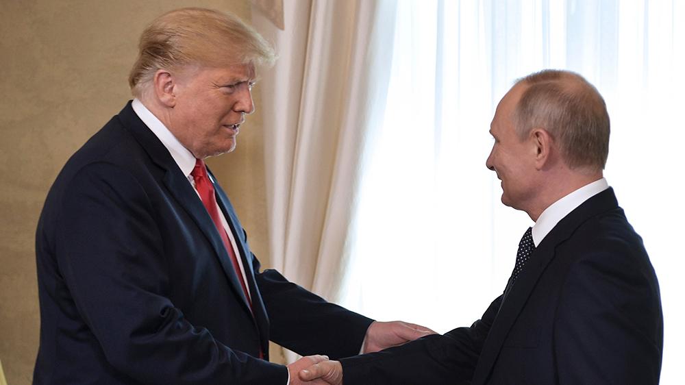 Trump Putin Summit, Helsinki, Finland - 16 Jul 2018