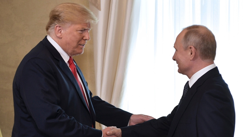 Trump Putin Summit, Helsinki, Finland - 16 Jul 2018