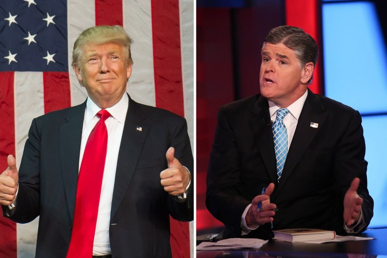trump and hannity